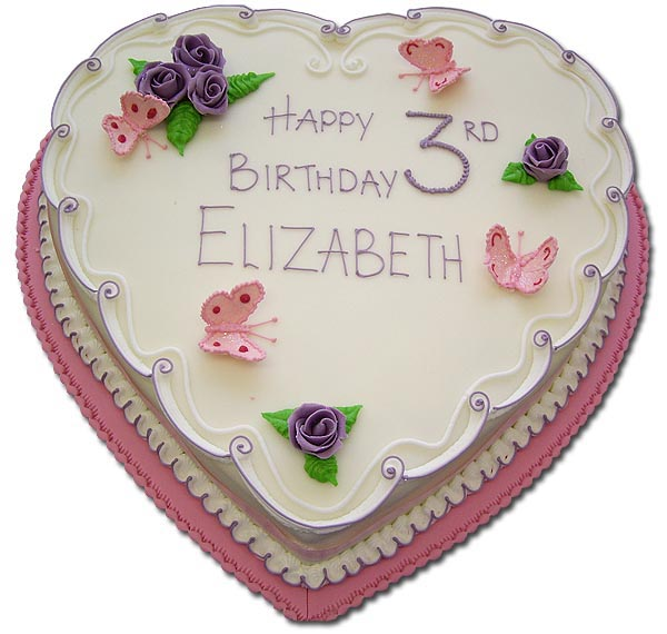 Jolly Baker Birthday Cakes