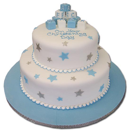 Christening, baptism & 1st Communion party cake and ...