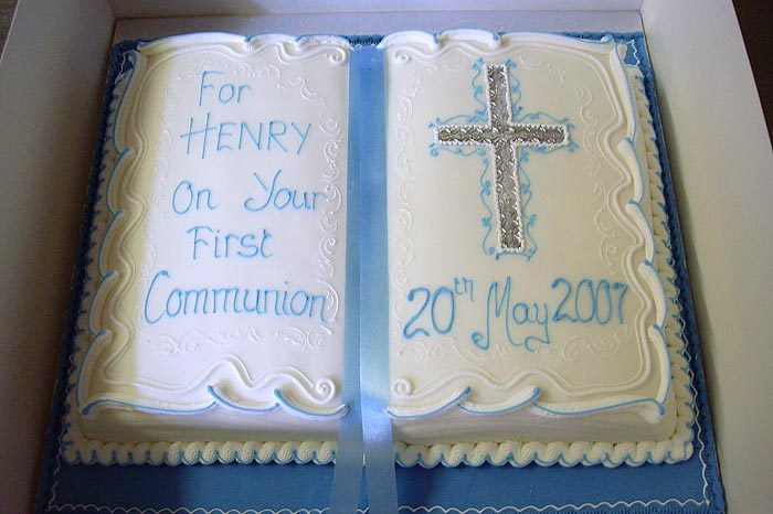 Christening Baptism Amp 1st Communion Party Cake And