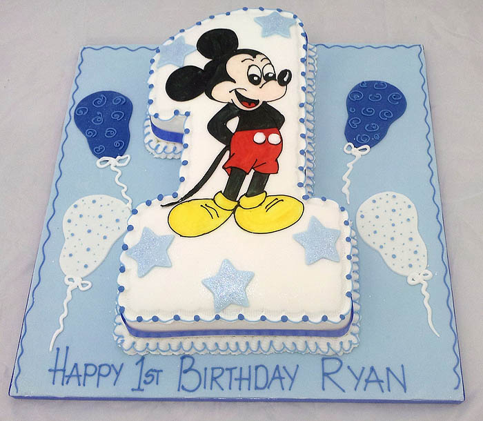 Birthday Cake Pictures Numbers : Letter and number party cake and celebration cakes Ashford ...